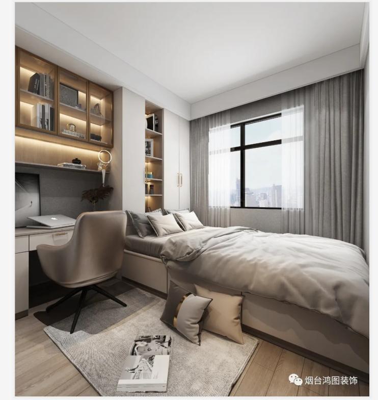烟台滨湖万丽·121平新中式风装修