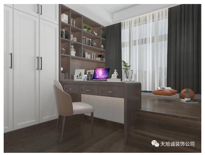 泰颐新城135㎡新中式装修效果图
